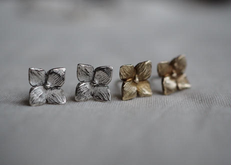 hydrangea pierce (brass)