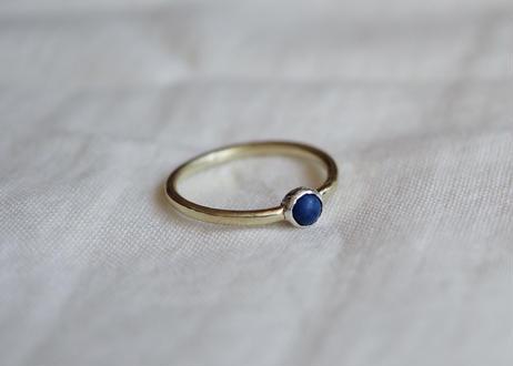 ラピスラズリの指輪  (brass)