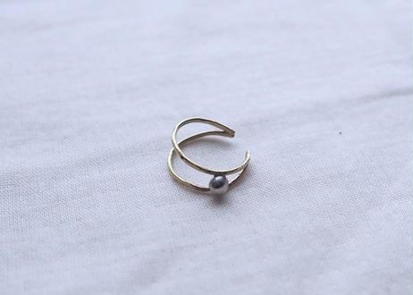 crescent moon (brass)