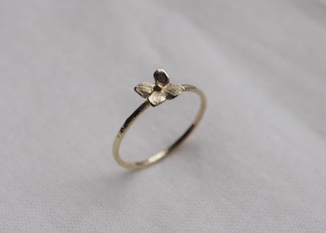 hydrangea ring (K10YG)