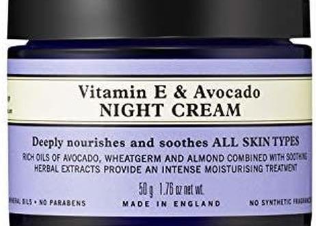 NEAL'S YARD REMEDIES(ニールズヤードレメディーズ) ビタミンE&アボカド ナイトクリーム(保湿クリーム) 50g