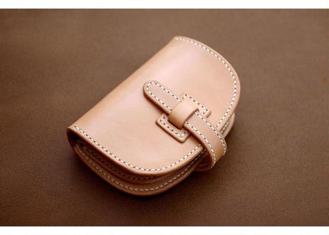 本革ハーフ財布【フラップ】
