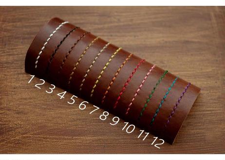 本革サドルレザーのコンチョコインケース