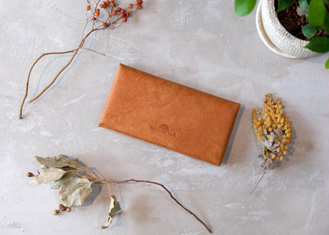 Compact Long Wallet 【 castello 】/ Cognac