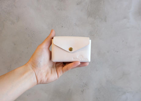 Card Case 【 Talo 】/ White