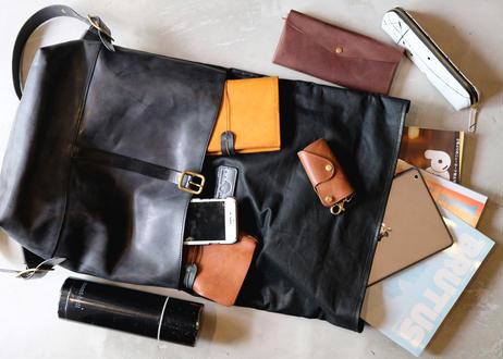 Backpack 【 collina 】-L size- / Black x Black