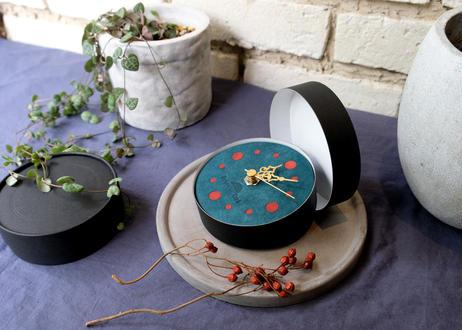 Wall clock【calmare】-S size-/ #Ortensia