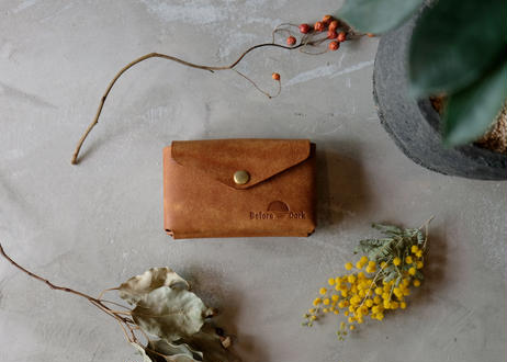 Card Case 【 Talo 】/ Cognac
