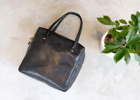 Square Tote Bag【  Tasogale 】-M size-|Black
