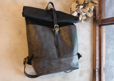 Backpack 【 collina 】-L size- / Black x Black