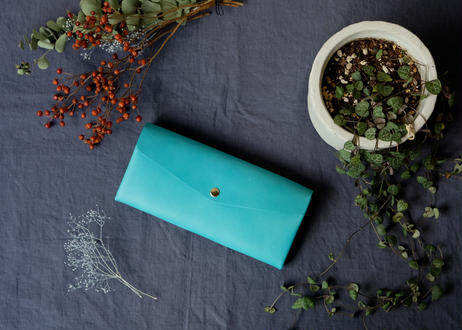 Long Wallet【 molto 】/#Turquoise