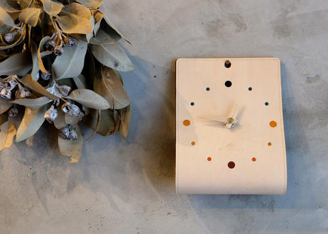 Wall clock 【IL TEMPO】/ #Natural