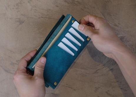 数量限定カラー | Compact Long Wallet 【 castello 】/  Prugna