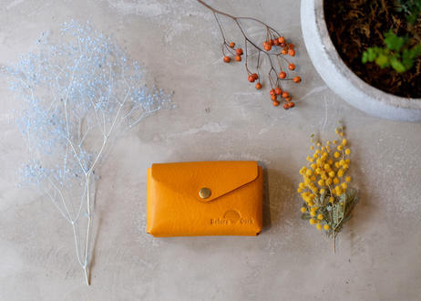 Card Case 【 Talo 】/ Yellow