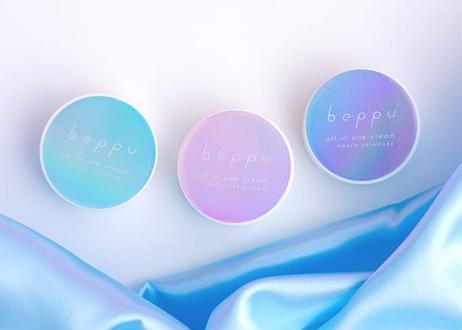 【送料無料】Beppuオールインワンクリームお試し3色セット(8g×3個)