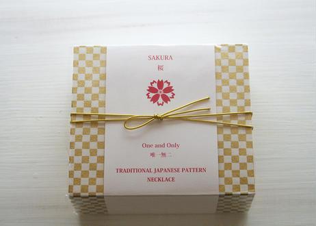 [WAMON PEARL]昇苑京組みひも×淡水パールブレスレット/SAKURA(桜)YG(BR20002Y)