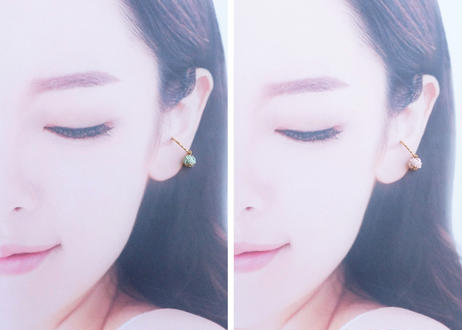 色デザイナーの金沢水引のイヤーカフ ~ ゴールド ~ The Colorist's  Mizuhiki Ear Cuffs - Gold