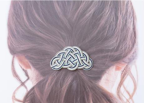 金沢水引のヘアゴム ~ ミントブルー ~ Mizuhiki Hair Tie - Mint Blue