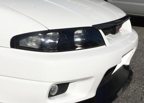 WISESQUARE リペアレンズキット for R33スカイライン前期型 & レンズ交換(カラ割)施工