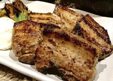 塩麹漬け豚バラ厚切り肉 300g     【無添加】 チルド 真空パック 小分け 同包OK