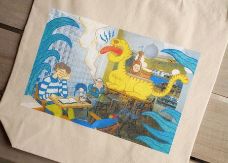 【オザキエミ×パンとエスプレッソと】 コラボトートバッグ