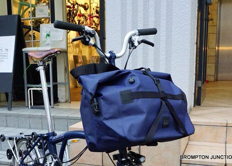 Roll Top Waterproof Bag 25L Navy