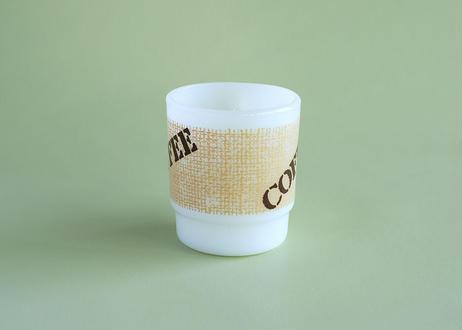 "【Vintage】 Fire King ""COFFEE"" Mug"