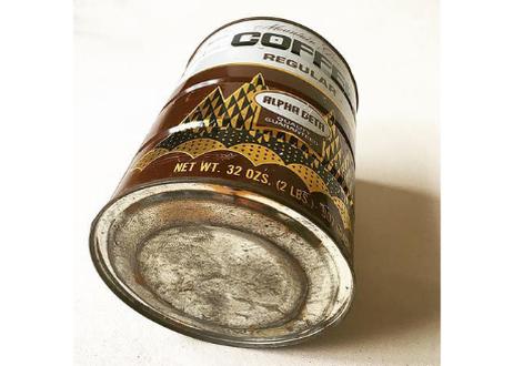 "【 Vintage】""ALPHA BETA"" Coffee Tincan (2lbs)"