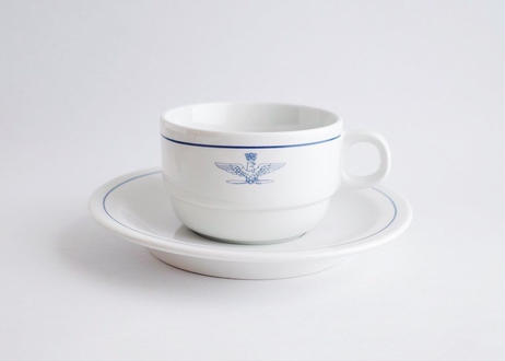 Italy A.M.I.  Dead Stock 1960's  Cup & Saucer