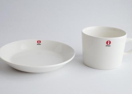 イッタラ(iittala)カップ&ソーサー ホワイト