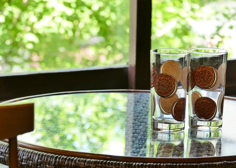 【Vintage】 1980's OREO Cookie Glass