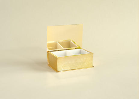 【Vintage】Gold Poodle Accessory Case