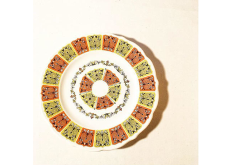 1960's Vintage Syracuse China Plate