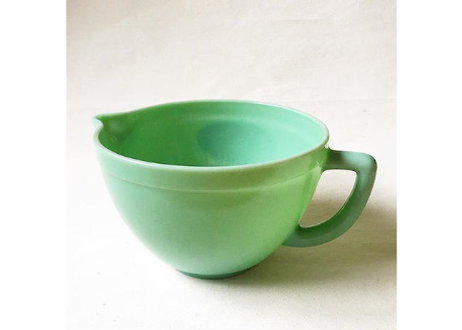 """Fire King 2000 """"JADE-ITE"""" Batter Bowl 2L by Anchor Hocking"""