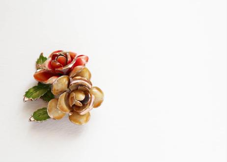 【Vintage】Flowers Brooch