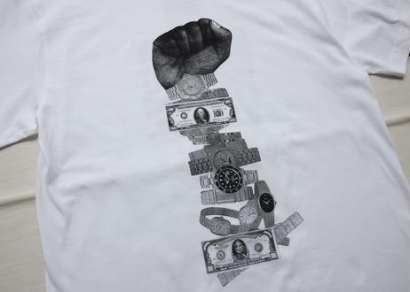 MONEY POWER COLLAGE S/S TEE