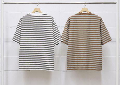 s/s border t-shirt