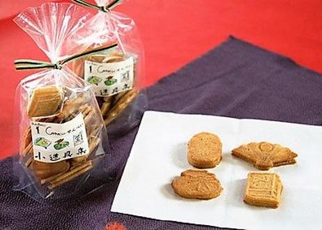 クッキーせんべい 文楽小道具集