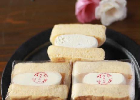 【1番人気!生クリームとカスタードのたもんパンケーキサンド3個セット】数量限定特別セット