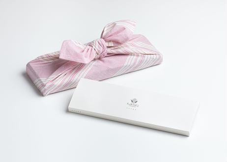 ちゃまてばこ飲み比べセット 5種 遠州綿紬 あずま袋付き(ピンク)