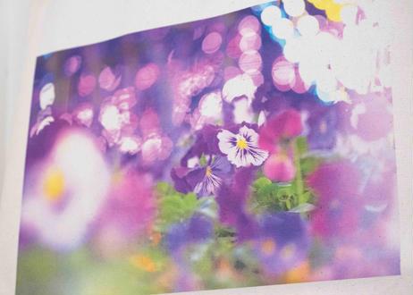 春のトートバッグ祭り:「PURPLE FLOWER」*期間限定