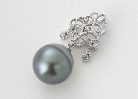 南洋真珠ダイヤペンダントトップ
