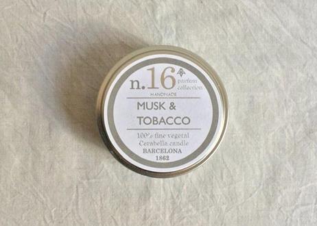 CERABELLA  ティンキャンドル No.16 <musk&tobacco>
