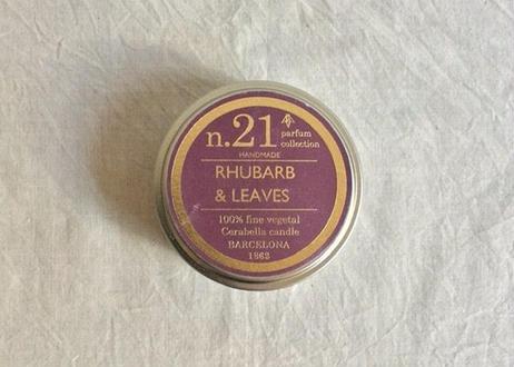 CERABELLA  ティンキャンドル No.21 <rhubarb&leaves>