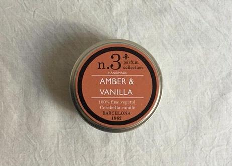 CERABELLA ティンキャンドル No.3 <amber&vanilla>