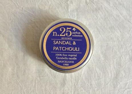 CERABELLA  ティンキャンドル No.25 <sandal&patchouli>
