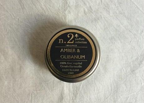 CERABELLA ティンキャンドル No.2 <amber&olibanum>