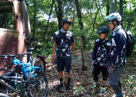URBAN DEER Shin Yamanaka × UD CAMO L/S TRAIL JERSEY