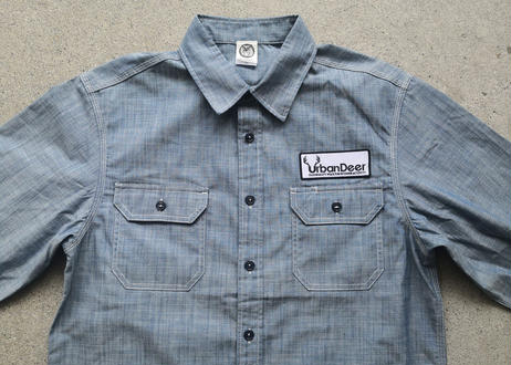 URBAN DEER L/S Chambray Work Shirts