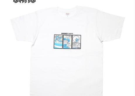公式ステッカー付 モンキーギャング Tシャツ E スパシャン M L XL XXL  洗車 SPASHAN  MONKEY GANG
